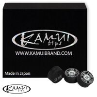 Наклейка для кия Kamui Snooker Black 11 мм Medium 1 шт.
