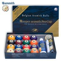 Бильярдные шары Super Aramith Pro-Cup Value Pack Pool 57,2 мм